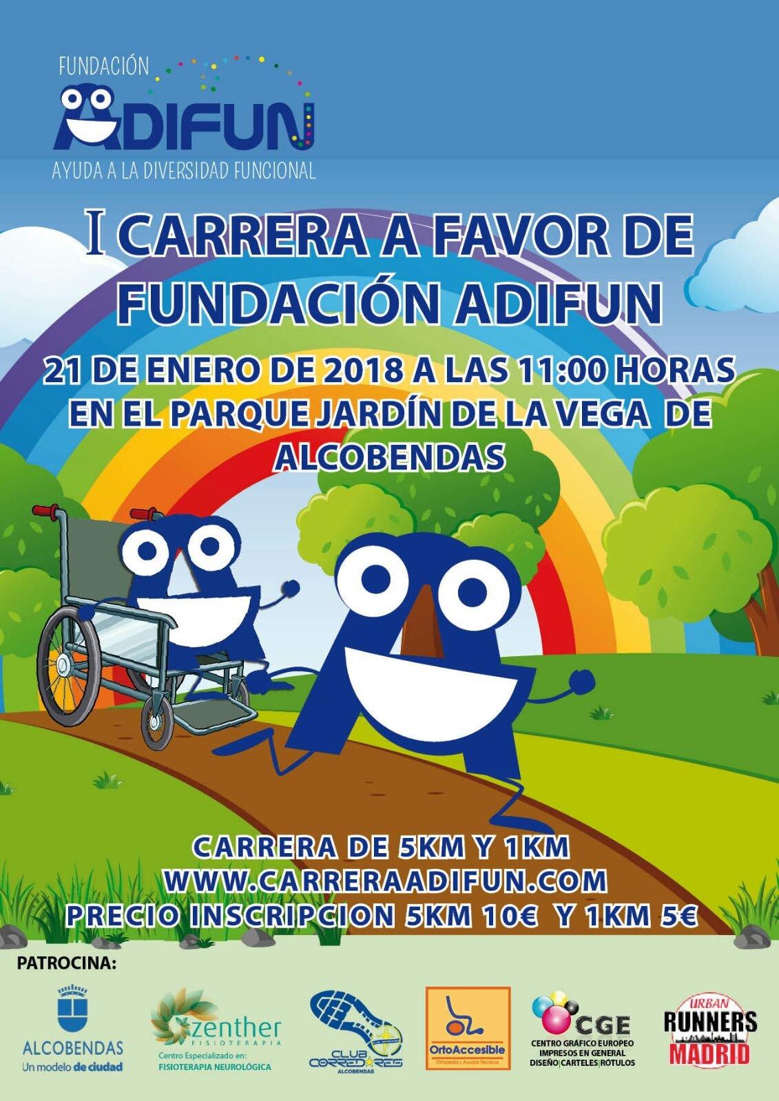 I carrera Fundación Adifun 2018